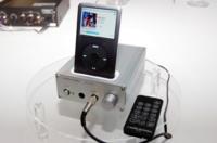 AT-HA35i amplificador y base dock de Audio-Technica