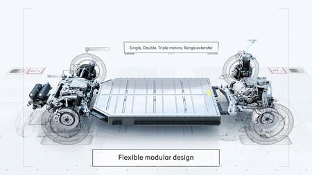 plataforma geely sea volvo coche eléctrico