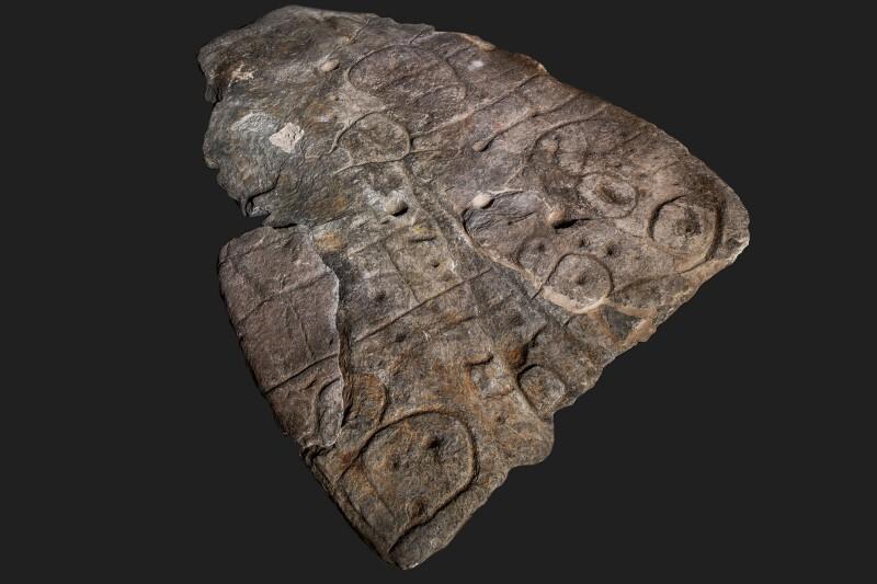 Este es el mapa más antiguo de Europa, está grabado en piedra y tiene 3.500 años