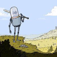 Feudal Alloy, el metroidvania medieval con robots con peceras en la cabeza, saldrá este mismo mes