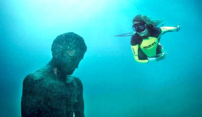 Un fantástico museo submarino en la isla Losinj de Croacia