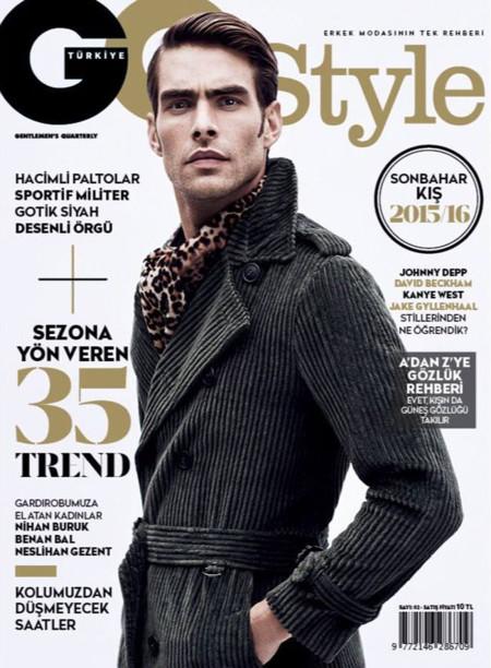 Jon Kortajarena, imponente en la portada de GQ Style Turquía