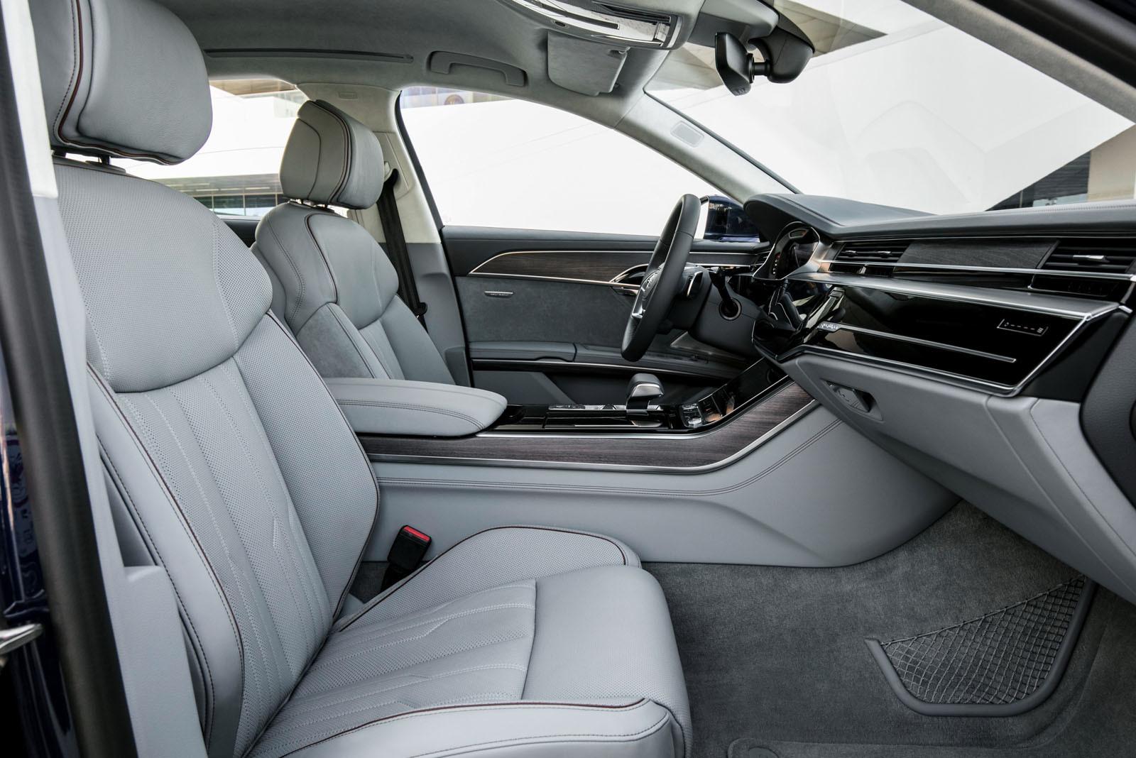Foto de Audi A8 2018 (presentación) (32/81)