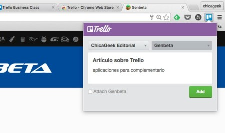 Trello para Chrome