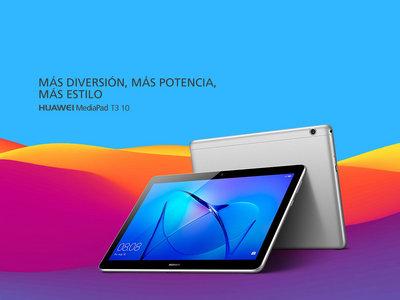 Tablet Huawei Mediapad T3, con pantalla de 10 pulgadas, por 135 euros y envío gratis