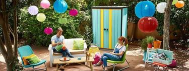 17 muebles de almacenaje de exterior, para poner orden en el jardín, en la terraza y en balcones pequeños