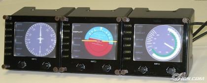Paneles LCD para simuladores de vuelo