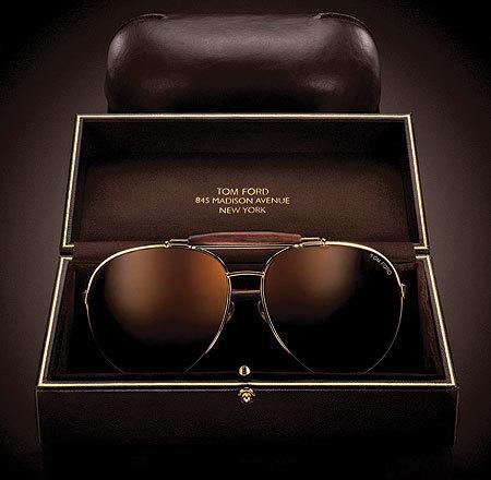 """Tom Ford y sus gafas de sol """"aviator"""""""