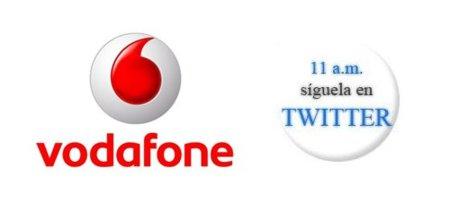Presentación Vodafone a las 11:00 de la mañana, síguela en nuestro Twitter