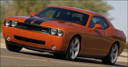 Dodge Challenger SRT8, primeras imágenes oficiales