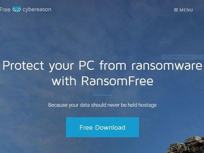 RansomFree es una aplicación que intentará bloquear cualquier ransomware antes de que te afecte
