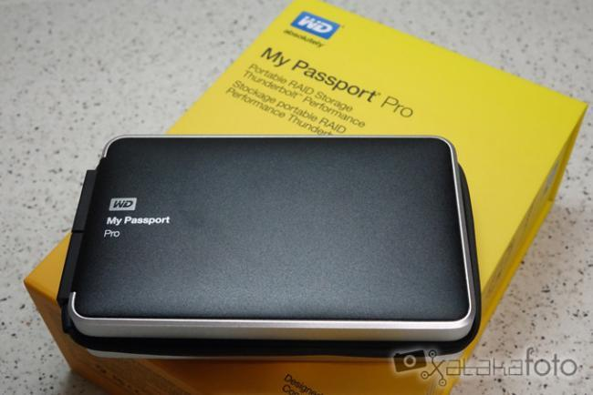 Western Digital My Passport Pro 2 TB, disco duro portátil con interfaz Thunderbolt: análisis