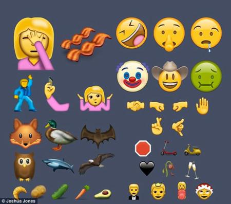 Unicode9 Emojis