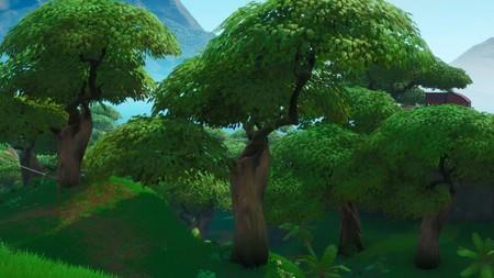 Desafío Fortnite: dónde conseguir el Fortbyte 11 bajo un loro de la selva que vuela en círculo