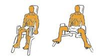 Guía para principiantes (LIV): Abductores sentado en máquina