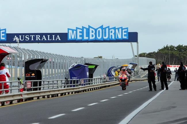 Casey Stoner en Australia 2012