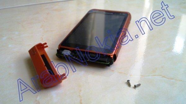 Foto de Nokia N8 naranja, batería (1/9)