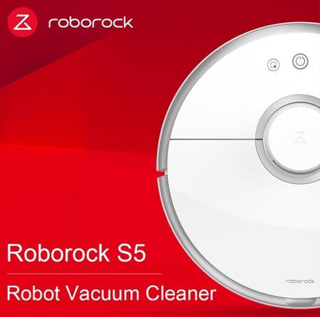 Robot aspirador Xiaomi Roborock S5, con guiado láser y mopa, por 312 euros en AliExpress Plaza con este cupón