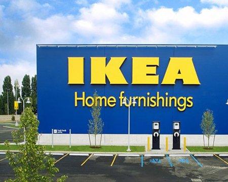 Ikea instalará puntos de recarga en sus tiendas