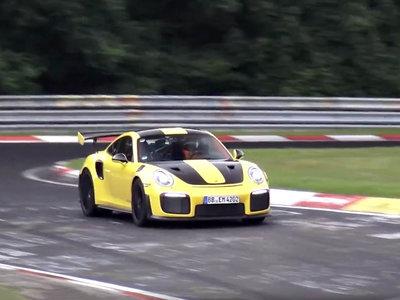 El Porsche 911 GT2 RS ya rueda por el Nürburgring en menos de 7 minutos. ¿Nuevo récord al canto?
