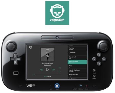 Napster y sus 34 millones de canciones llegan a Wii U