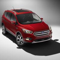 Este es el nuevo Ford Kuga, y ahora tiene un aspecto más yanqui que nunca