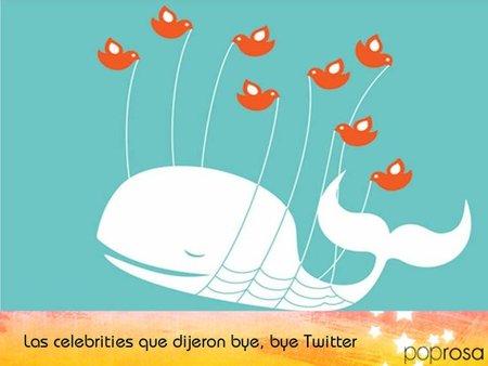 Las celebrities que alguna vez dijeron adiós a Twitter