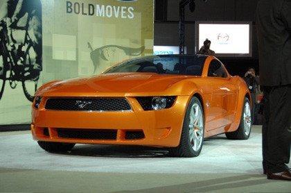 Fotos en vivo del Mustang Giugiaro