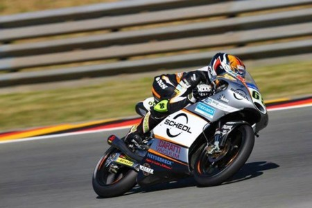 Philipp Oettl Moto3 Indianapolis 2015