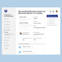 Dropbox Spaces 2.0 para equipos de trabajo permite ahora incluir a colaboradores externos pero protegiendo archivos confidenciales de una empresa