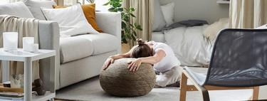 Tener un espacio en casa para practicar yoga o ejercicios de relajación es fácil si sigues estos consejos de Ikea
