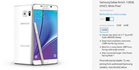 Samsung desmiente un posible Galaxy Note 5 y Galaxy S6 Edge+ de 128 GB