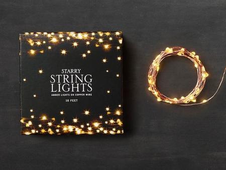 originales maneras de poner las luces de Navidad