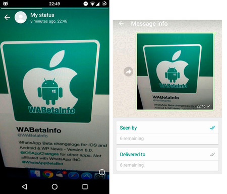 WhatsApp ya prueba una función similar a Instagram Stories en su última beta