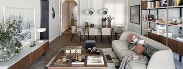 Un piso familiar con esencia y personalidad en el centro de Barcelona