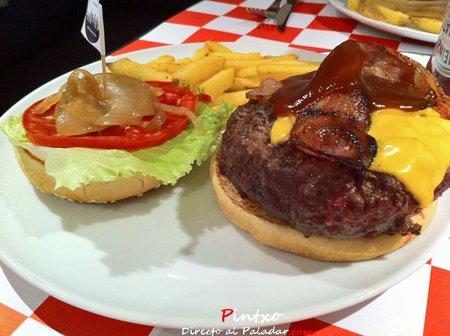 Hamburguesa de New York Burguer en Madrid
