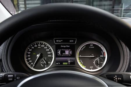 Mercedes Clase B Electric Drive, panel de instrumentación