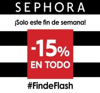 Sephora te ofrece un 15 % de descuento en todo... ¡Acaba hoy!
