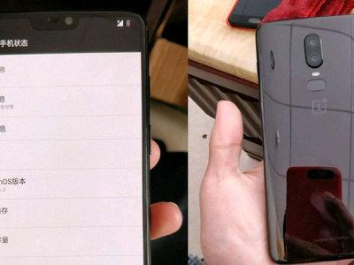 OnePlus 6: supuestas imágenes filtradas revelan 'notch' y cuerpo de cristal