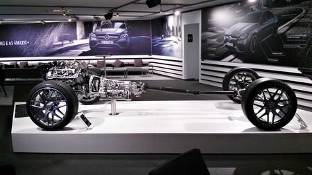 Mercedes-AMG E 63S 4matic+ transmisión