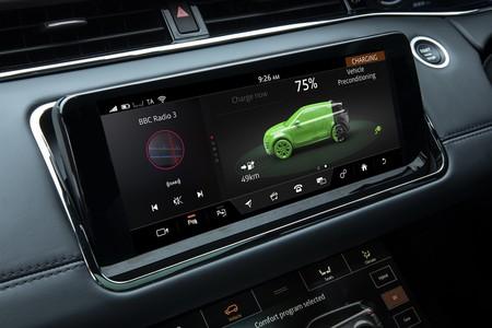 Range Rover Evoque PHEV 2020 carga batería