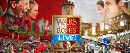 Warwick Castle Guerra De Las Dos Rosas
