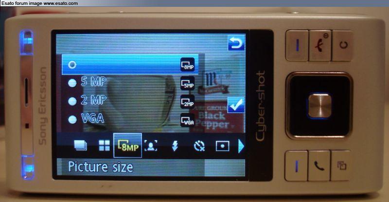 Foto de Sony Ericsson C905 (1/3)