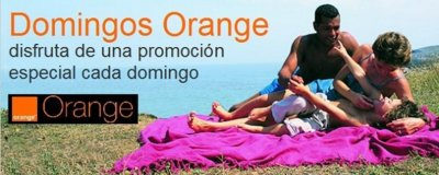 Domingos Orange: 100x1 en MMS a todos