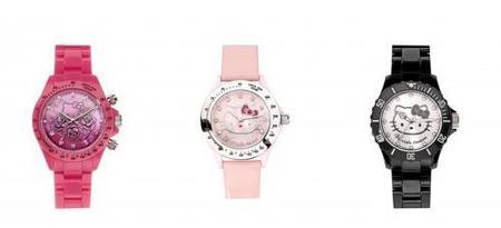 Colección Relojes Hello Kitty 2010 de Victoria Couture