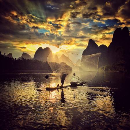 054 Yongmei Wang Sunset 2nd