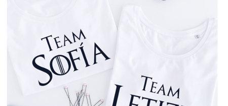 Del meme a la tienda: las camisetas con las que demostrar si perteneces al #teamLetizia o al #teamSofía ya están aquí