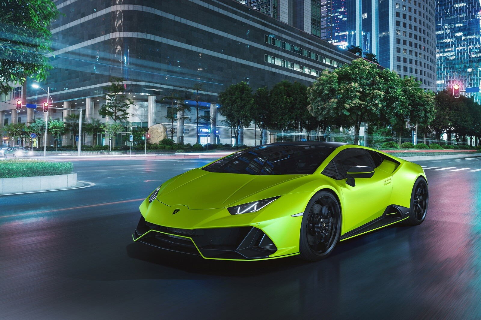 Foto de Lamborghini Huracán EVO Fluo Capsule (14/26)
