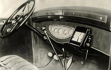 Los antepasados del navegador GPS: rutómetro de 1932 y navegador de Honda de 1981