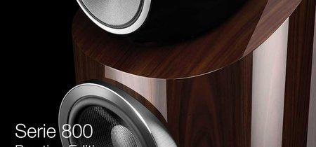 La nueva  Serie 800 Prestige Edition de  Bowers & Wilkins añade acabados más lujosos a un altavoz ya sobresaliente